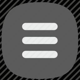 design, menu, mobile, responsive, ui icon
