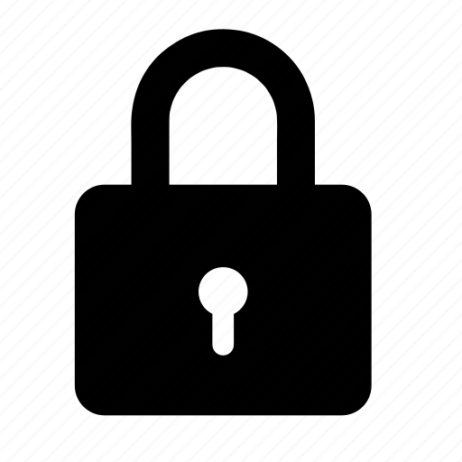 lock, pad lock, password, safe, security icon