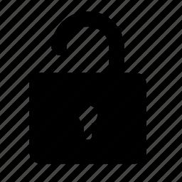 lock, password, safe, security, unlock icon