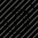 compass, north, orientation, pirate icon