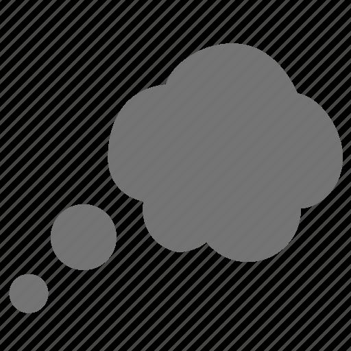 bubble, dream, happy, idea, speech, talk, think icon