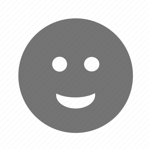 awesome, face, flexible, friendly, like, loyalty, positive, satisfied, smile, testimonials icon