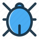 bug, interface, ui, virus icon