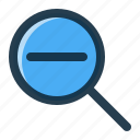 interface, magnifier, ui, zoom icon