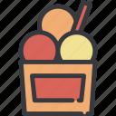 cup, dessert, ice, ice cream, icecream, sweet