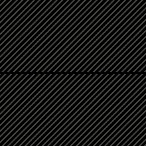 arrow, delete, line, minus, remote, remove icon