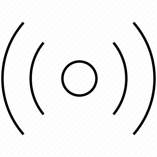communication, connection, internet, network, radio, signal, wifi, wireless icon