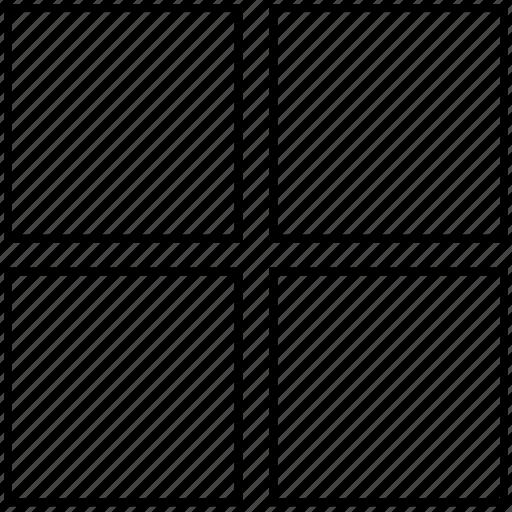 column, columns, grid, layout, table icon
