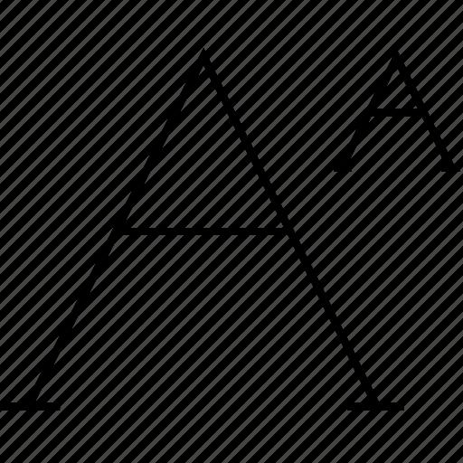 caps, font, letter, text icon
