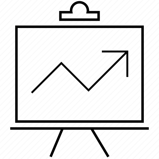 business, chart, diagram, finance, graph, graphs, report, statistics icon