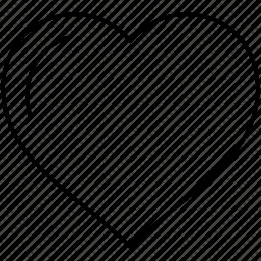 favorite, favorites, favourite, heart, like, love, valentine's day icon