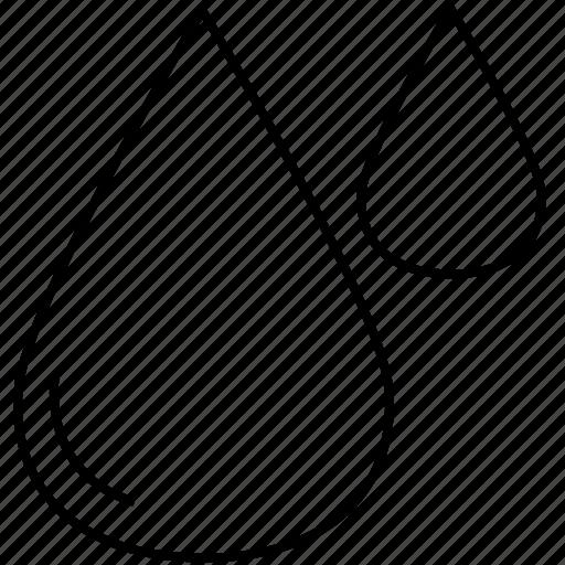 drop, rain, rainy, water icon