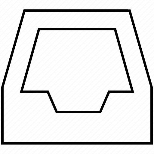 documents, folder, inbox icon
