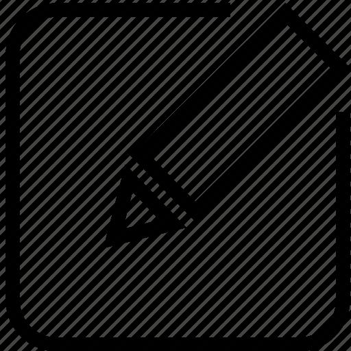 Edit, rename, modify, change icon