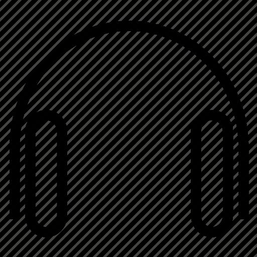 audio, headphone, mp3, music, song icon
