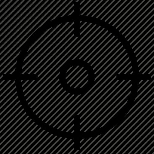 aim, gps, location, my, navigation, target icon