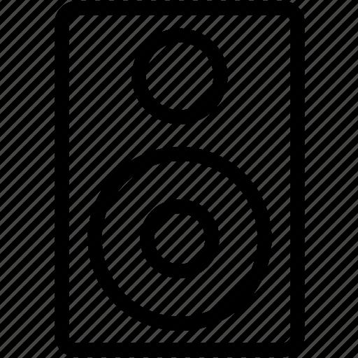 audio, festival, function, media, music, sound, speaker icon