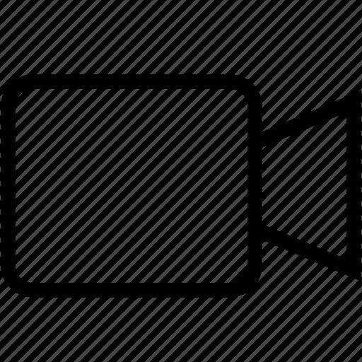 media, multimedia, recording, video, youtube icon