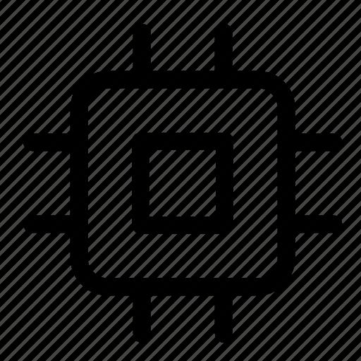 chip, computer, electronics, gpu, hardware icon