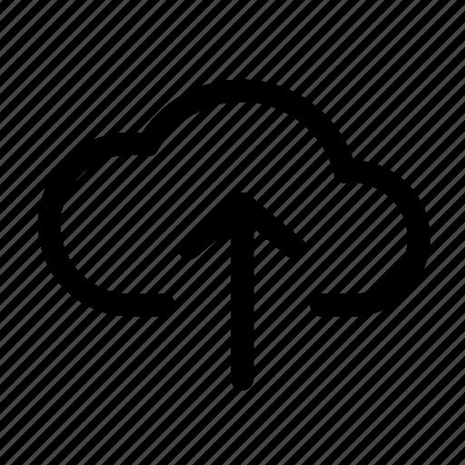 cloud, data, internet, server, transfer, upload icon