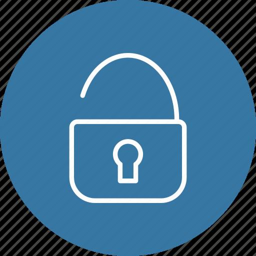 password, security, unlock icon