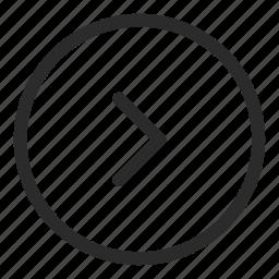 arrow, forward, go, left, next, right, up icon