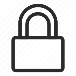 key, lock, locked, password, protect, safety, security icon