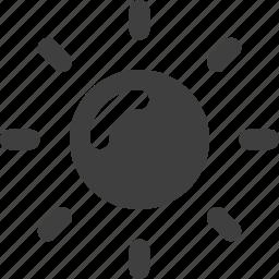 down, light icon