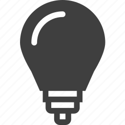 bulb, electricity, light, power icon