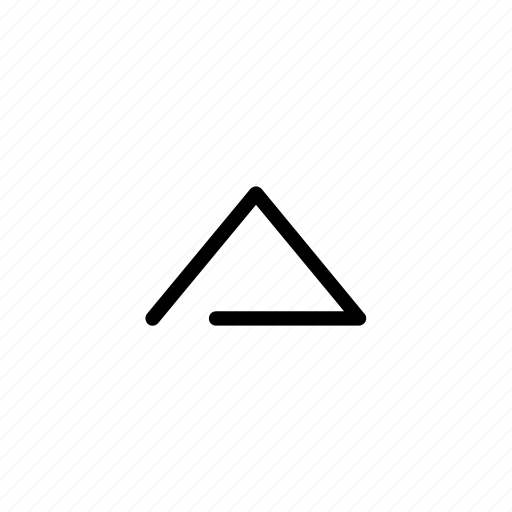above, arrow, direction, up icon