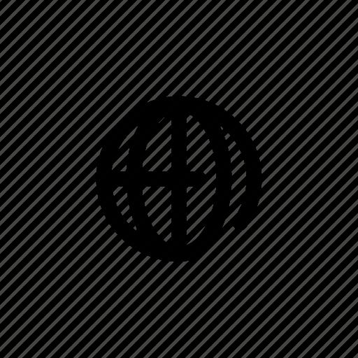 earth, globe, planet, web icon