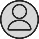 account, admin, administrator, person, profile, settings, user icon