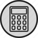 calc, calculator, finance, math icon