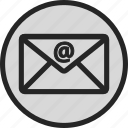 email, envelope, mail, message, post icon