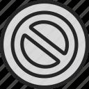 closed, danger, error, forbidden, password, stop, warning icon