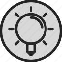 bulb, help, idea, light, light bulb, tip icon