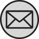 email, envelope, letter, mail, message, post, text icon