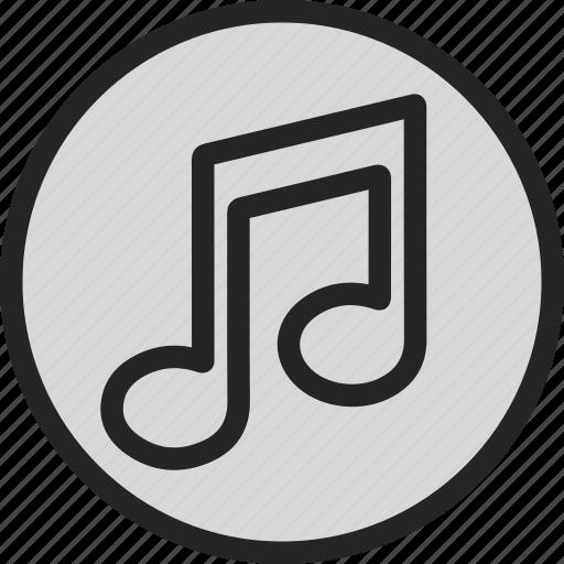 audio, music, note, sound, volume icon