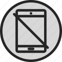 device, mobile, no tablet, smart device, tablet, touch screen icon