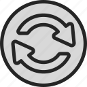 load, recycle, refresh, reload, renew icon