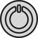 closed, off, on, open, power, stop, switch icon