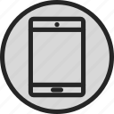 ipad, mobile, mobile device, tablet, touch screen icon