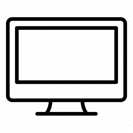 computer, desktop, device, monitor, pc, screen, technology icon