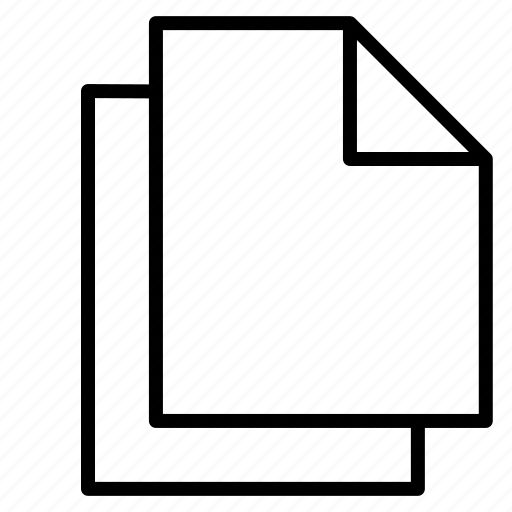 document, documents, file, files, paper, sheet, text icon