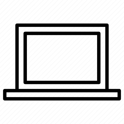 computer, laptop, network, technology icon