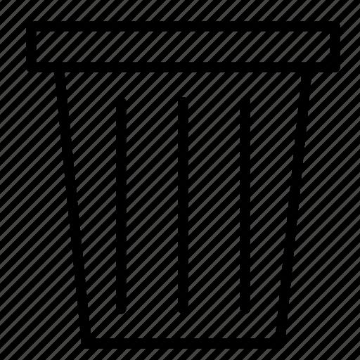 cancel, close, delete, garbage, recycle, remove, trash icon