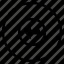 arrow, direction, left, path, way icon