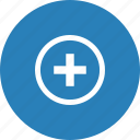 add, hospital, more, plus, support icon