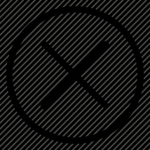 Remove, delete, cancel, close icon - Download on Iconfinder
