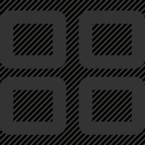 Grid, menu, interface icon - Download on Iconfinder